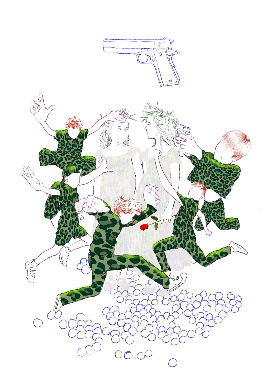 A prendre dessin numérique illustration Cécile Alvarez