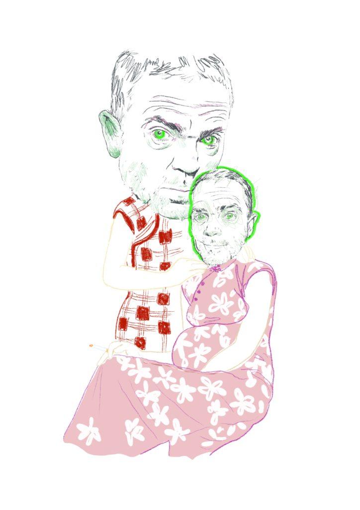 Yaourths dessin numérique illustration Cécile Alvarez